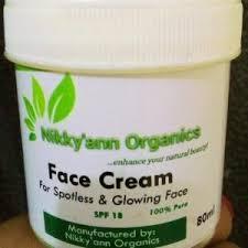Nikky Organics Face Cream
