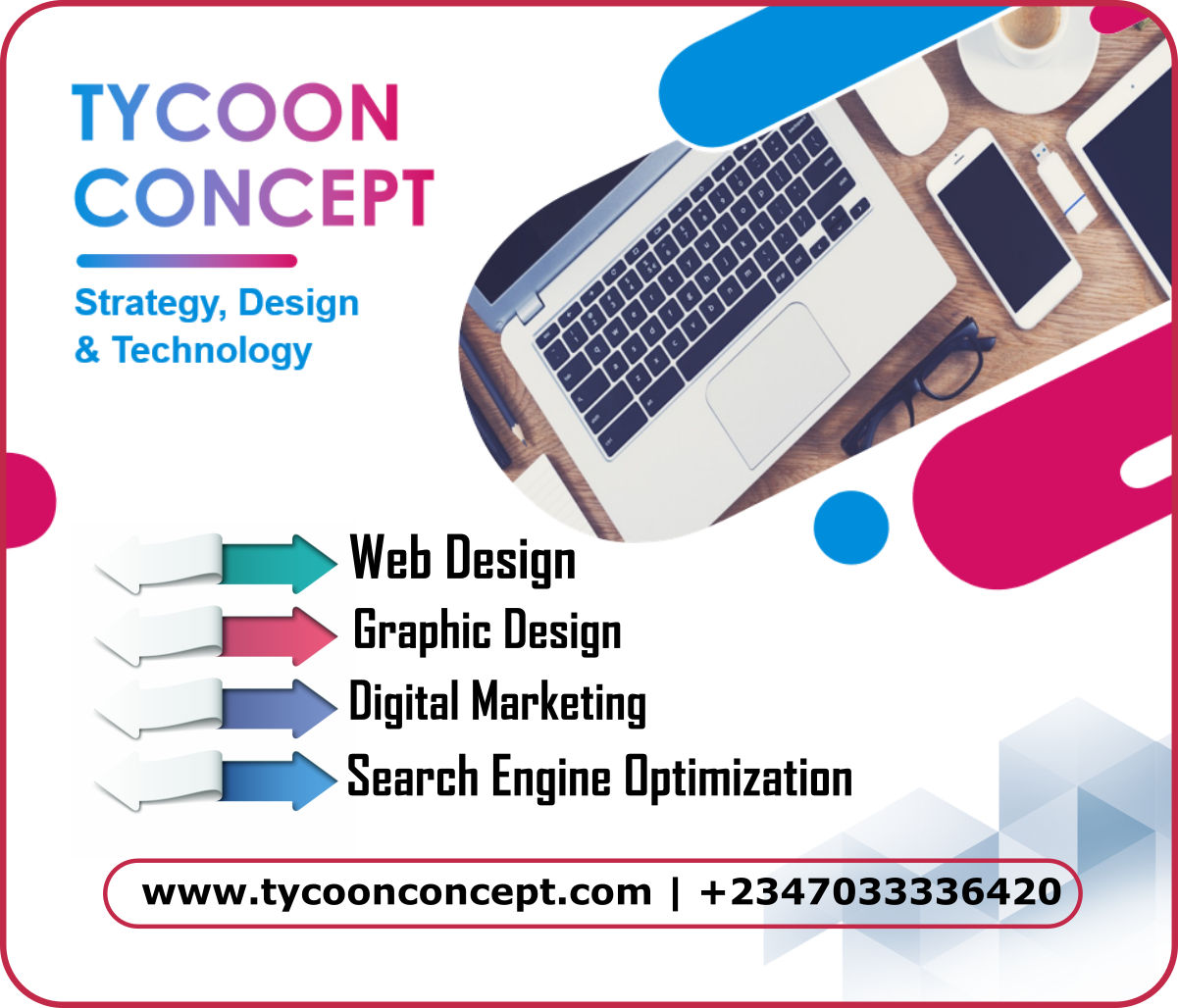Reliable Web Design in Nigeria by TycoonConcept.com
