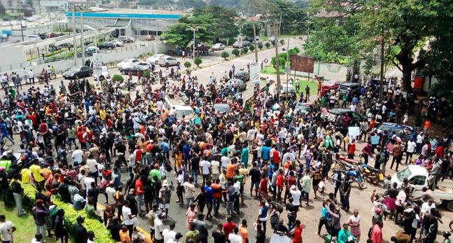 NIGERIAN YOUTH PROTEST