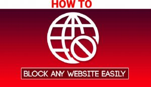 HOW TO BLOCK A WEBSITE ON CHROME2