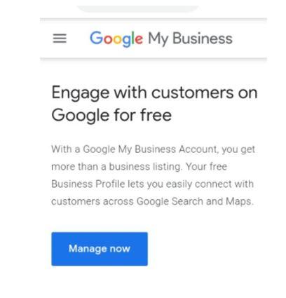 Set up Google My Business