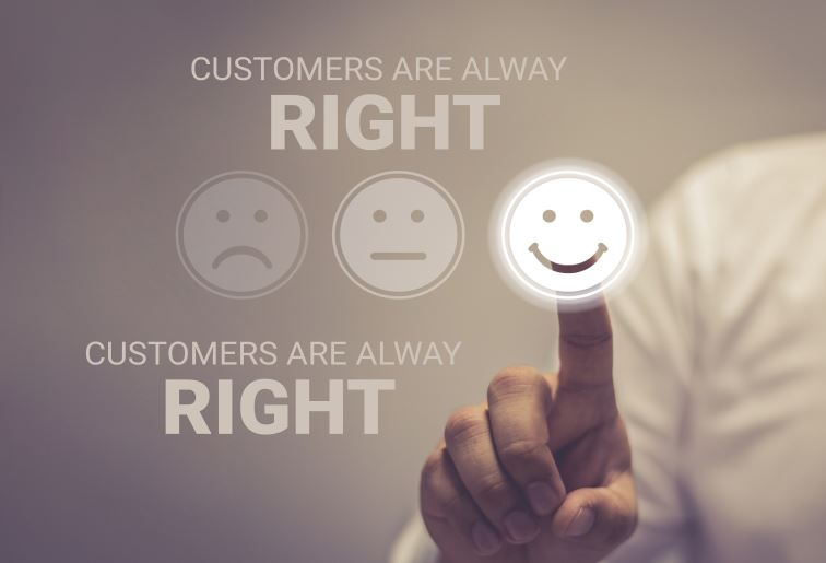 CUSTOMERS ARE ALWAYS RIGHT: VALID OR FAULTY?