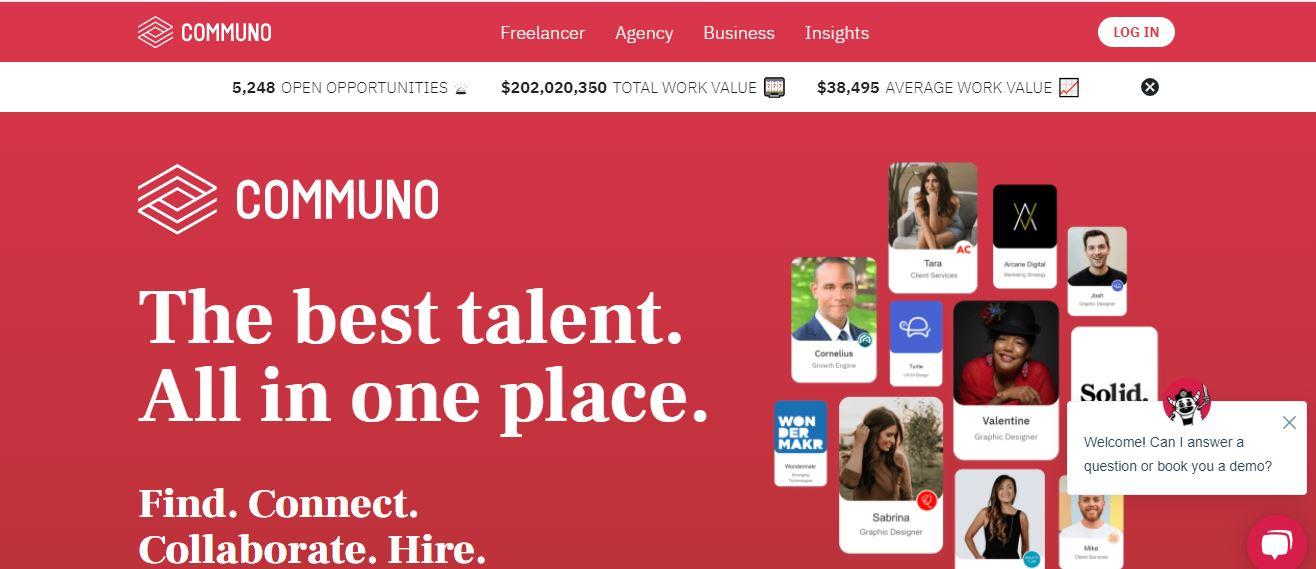 is freelancer legitimate, communo