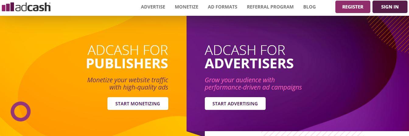 Adcash.com, FREE WEB DOMAIN AND HOSTING SITES
