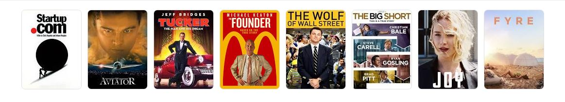 WATCH MOVIES ABOUT ENTREPRENEURSHIP