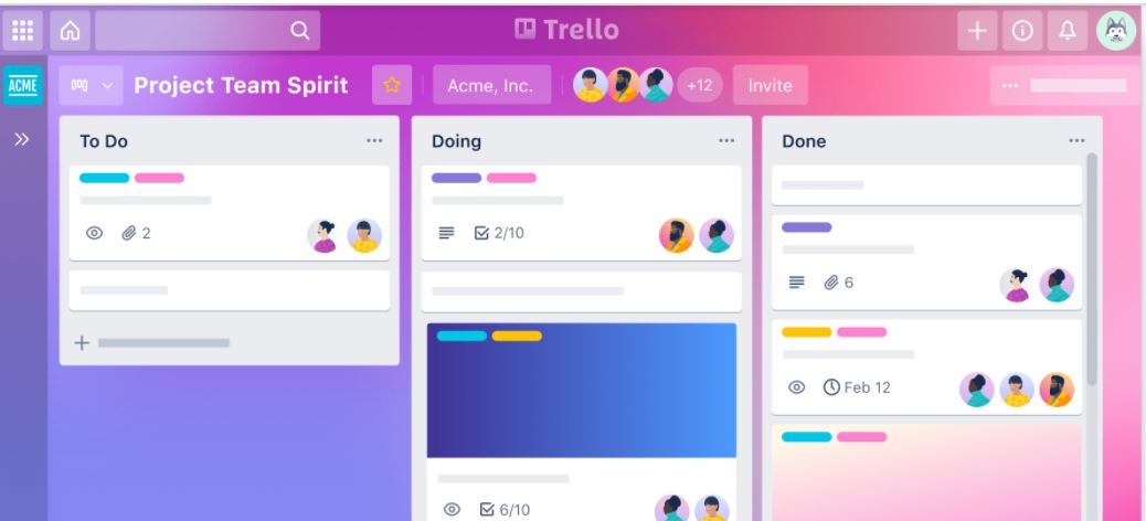 best tools for project management, trello