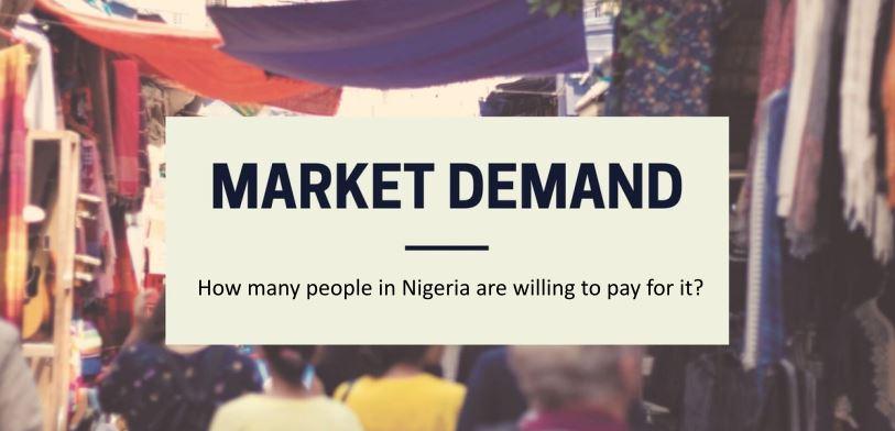 Nigerian Market, 100 BUSINESS IDEAS IN NIGERIA