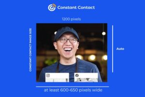 CONSTANT CONTACT IMAGE SIZE, Constant Contact Image