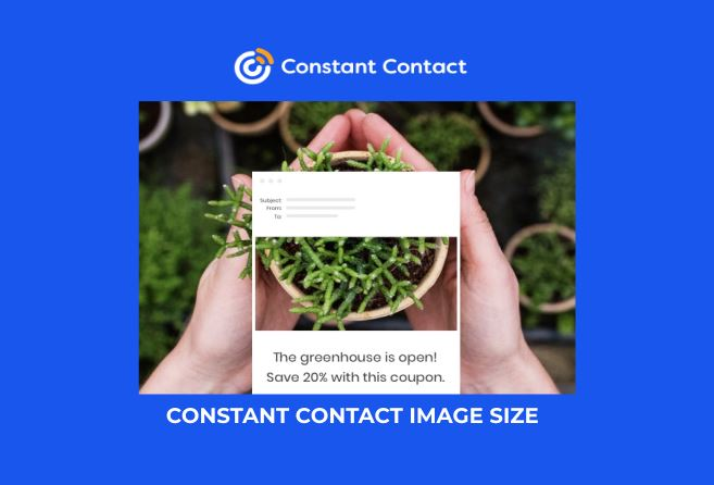 CONSTANT CONTACT IMAGE SIZE