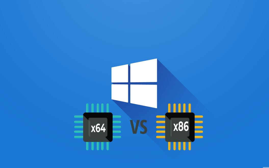 x64 or x86, x 64